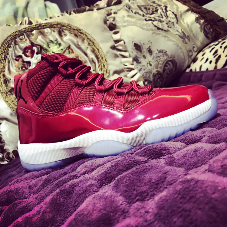 Nike Air Jordan Retro 11 Gym Red Mens Athletic Basketball Shoes ... d28e01243