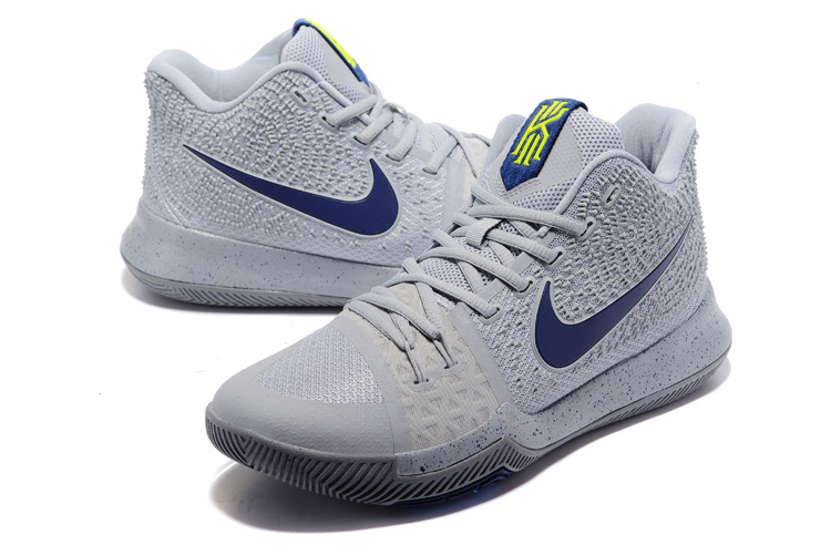 half off c371c 081a6 Nike Kyrie 3 III EP Irving 911 Commemorative Edition Grey Black Men's  Basketball Shoes NIKE-ST001532