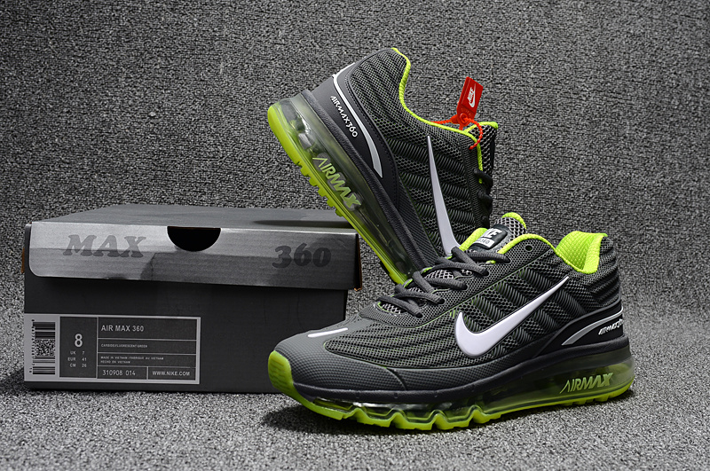 low priced ebe22 f976d ... germany nike air max 360 kpu green grey mens e0733 b9b4c