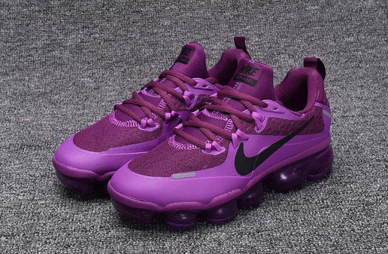 super popular 1bf8c b4a5d Nike Air Vapormax Flyknit Triple Black Women's Running Shoes 709384-010