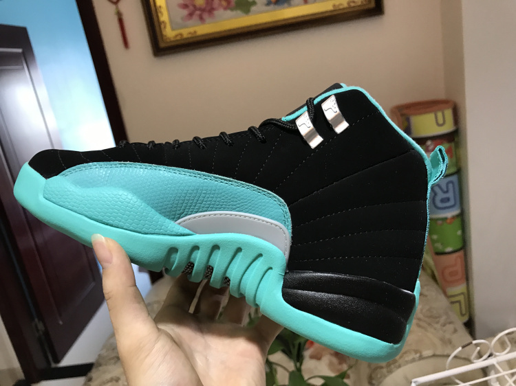 55a880387697 Nike Air Jordan Retro 12 Hyper Jade Mens Athletic Basketball Shoes ...