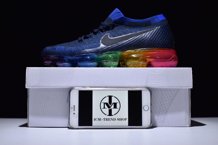118b45f2deb0 Nike W Air Vapormax Flyknit Be True Deep Royal Blue Concord Pink ...