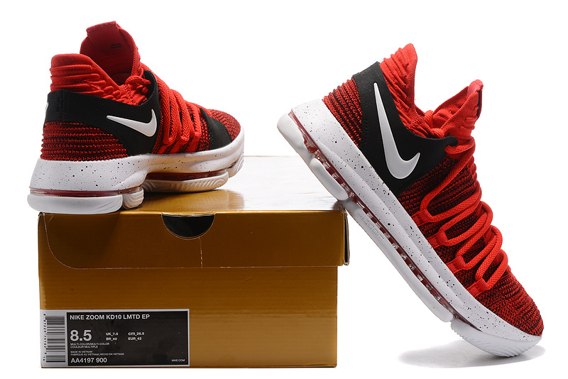 finest selection 7cf11 a2861 ... best nike zoom kd 10 limited ep university red white mens basketball  shoes ebe15 654dd