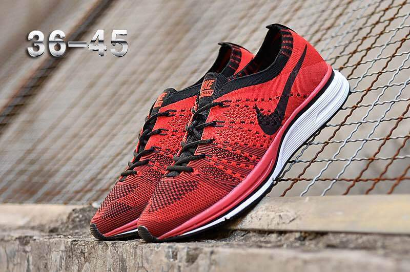 350398834fca Nike Air Zoom Mariah Flyknit Racer Black Red White Women s Men s ...