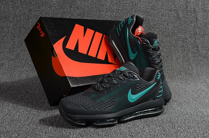 big sale 6bb93 7546f Nike Air Max Flair KPU 2019 Black Hyper Jade Men's Running Shoes  NIKE-ST001116