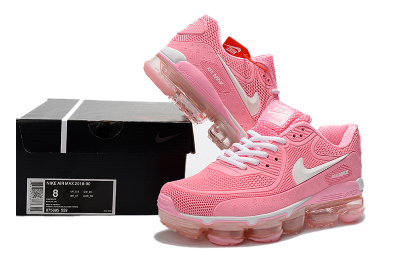 Off White X Nike Air Max 90 Kpu Baby Pink White 875695 559 Women S