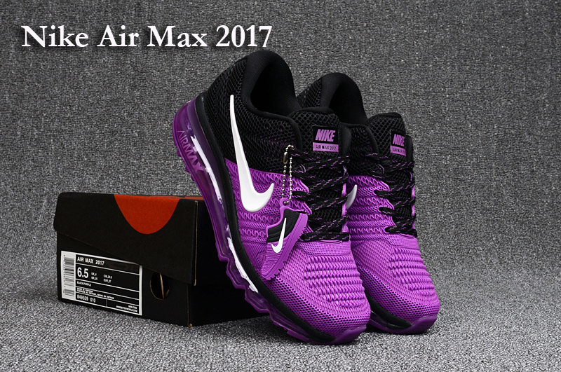 outlet store c53e5 b9dc9 Nike Air Max 2017 KPU Purple Black White Women s ...