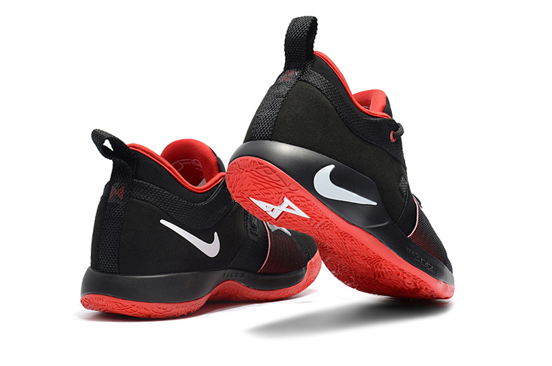 0c3e4185f38 Nike Paul George PG2 Playstation Black Red White Men s Basketball Shoes