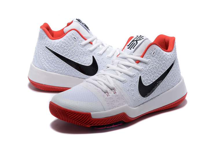 28a66c570767 Nike Kyrie 3 EP White Pink Red Black Men s Basketball Shoes NIKE ...