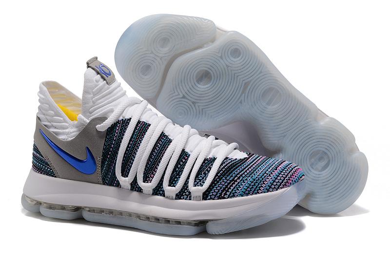 c9141844562d Nike Zoom KD 10 Limited EP White Black Black Men s Basketball Shoes ...