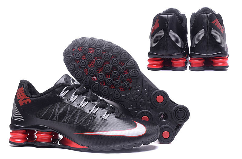 cheap for discount c10fe b59c5 Nike Shox Black Red White ...