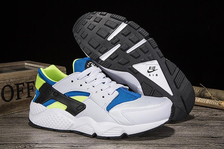 on sale 796ea 1c592 ... australia nike air huarache run white blue green 2e148 d7acd
