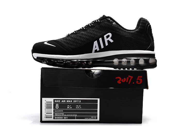 newest c8671 45ce6 Nike Air Max 2017. 5 KPU Black White Women s Men s ...