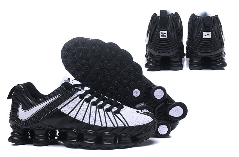 separation shoes b311b b3a00 Nike Shox TLX KPU White Black Men's Running Shoes NIKE-ST000371 ...