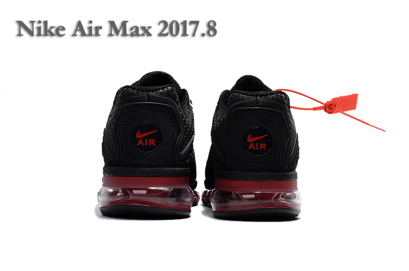 49466f15f2c470 Nike Air Max 2017. 8 KPU Black Red Women s Men s Running Shoes NIKE ...