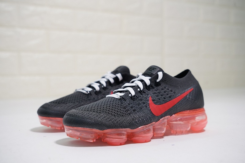 1fa9e1bf6a5 Nike Air VaporMax Flyknit Dragon Ball Z Black Red AA3859-016 Women s  Running Shoes