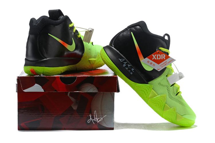 new style 7ba59 bea03 Nike Kyrie 4 Green Black Orange ...