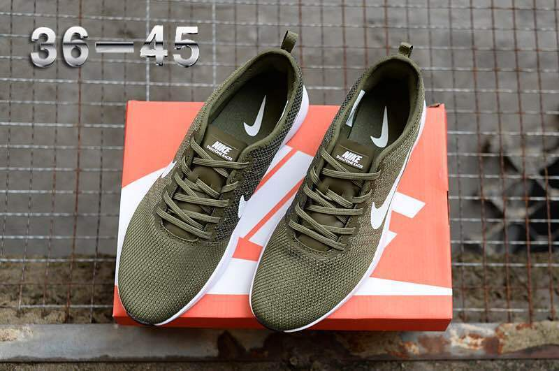 6697ff1ad950 Nike Air Zoom Mariah Flyknit Racer Olive Green White Women s Men s Running  Shoes