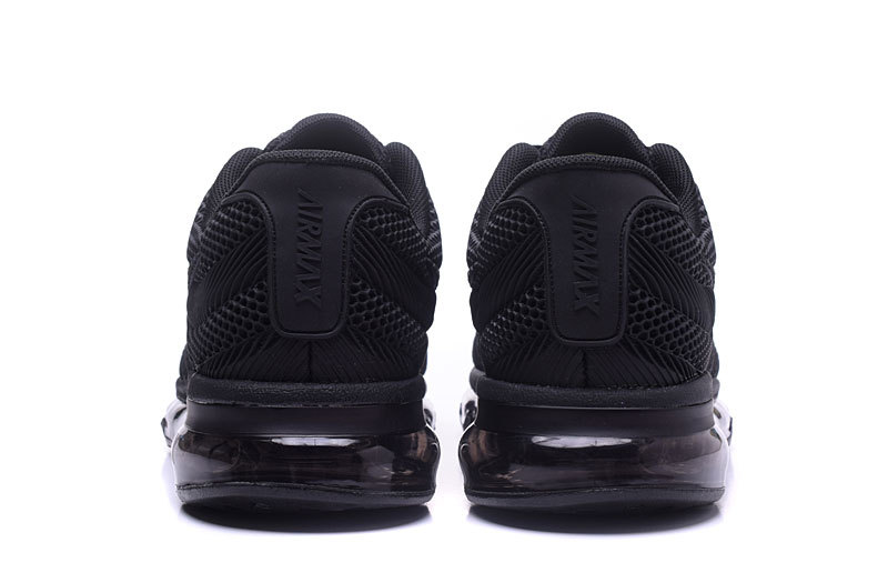 Nike Air Max 2017 KPU Triple Black Men's Running Shoes 849560 701