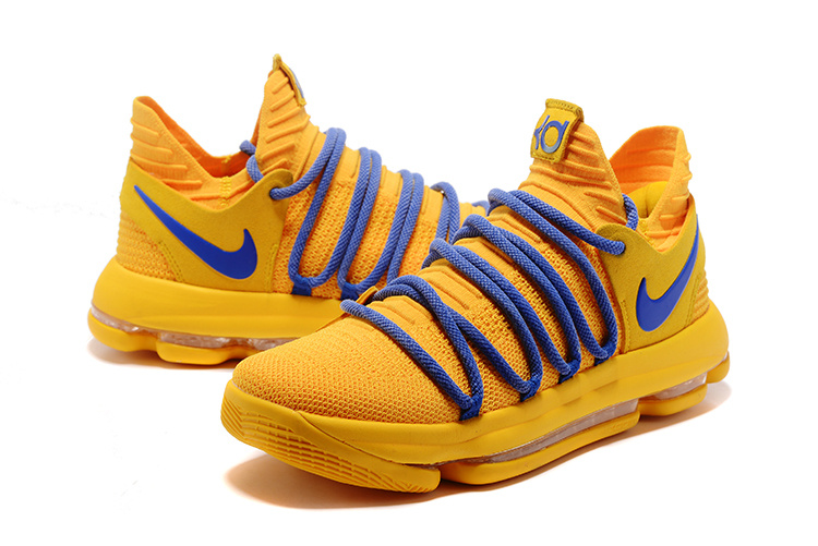 cheap for discount 9f6e3 d56d8 ... free shipping nike zoom kd 10 ep warrior yellow blue mens basketball  shoes 0abd7 40e20