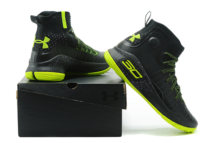 a21a4a91a74 ... germany under armour stephen curry 4 black green mens basketball shoes  cae8a 978e4