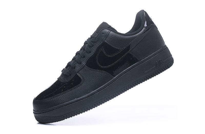 Ah0287 Men's Patent Sneakers Black Nike 1 Force 07 Running 001 Shoes Air 8n0kXNPOw