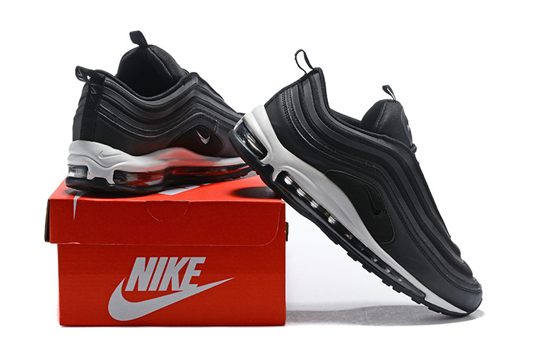huge discount f1319 a4f68 Nike Air Max 97 Ultra 17 Se Black White Men's Running Shoes NIKE-ST000699