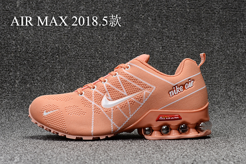 separation shoes 42fdd ed30a Nike Air Max 2018. 5 Shox Orange White Women's Running Shoes NIKE-ST000405