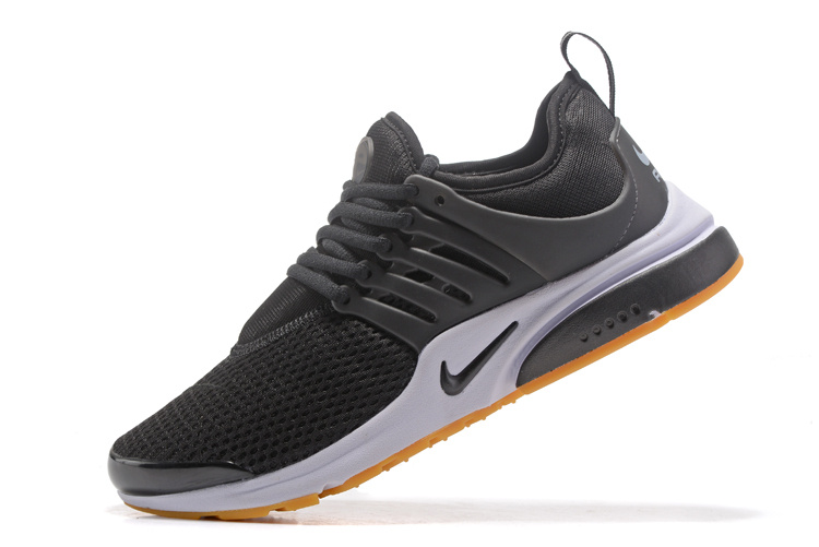 best service dfdca 7226b Nike Air Presto Cortez Black White Gum Yellow Men's Women's Running Shoes  878068-005