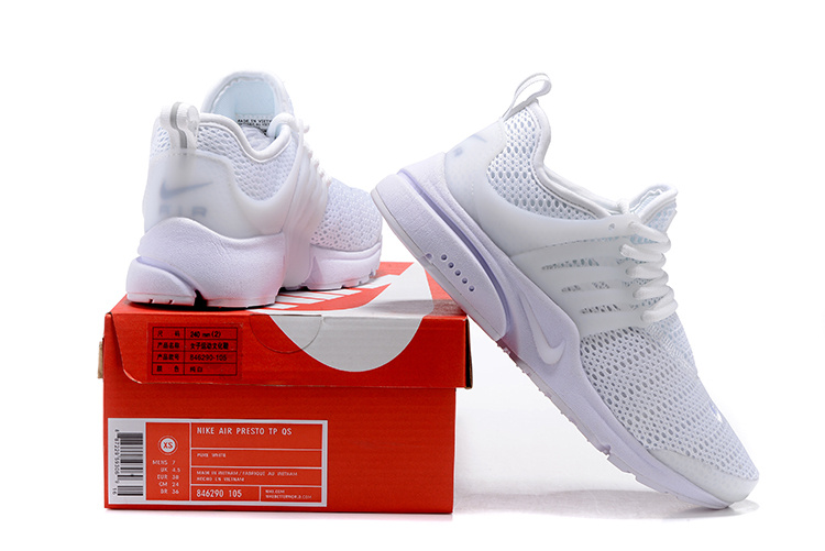 various colors 28d41 cfafc Nike Air Presto TP QS White Pure Platinum Men's Women's Running Shoes  846290-105