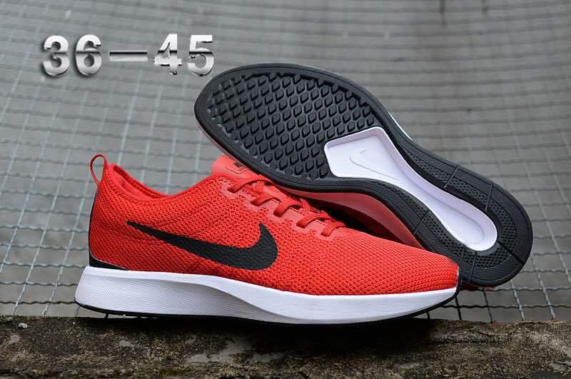 fbe2ec5f74e0 Nike Air Zoom Mariah Flyknit Racer Black Red White Women s Men s Running  Shoes