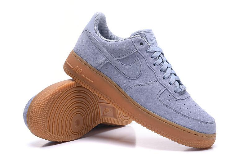 Nike Air Force 1 07 Suede Dark GreyGum 749263 001 Wmn Sz 9