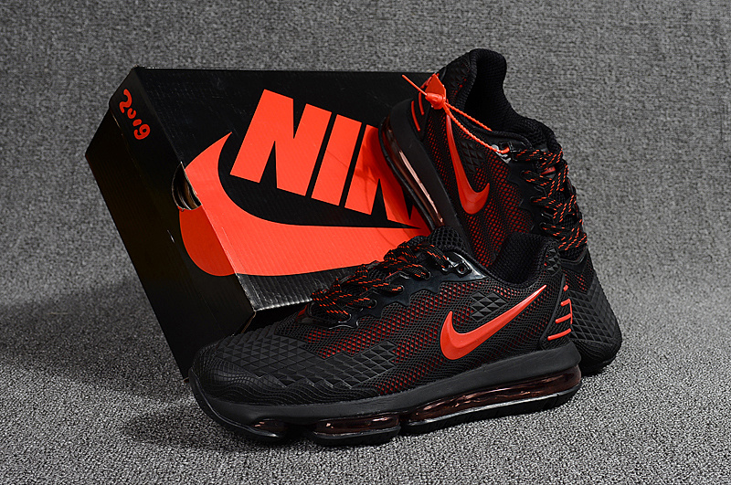 outlet store 92ee9 7d7a2 Nike Air Max Flair KPU 2019 Black Red Men's Running Shoes NIKE-ST001113