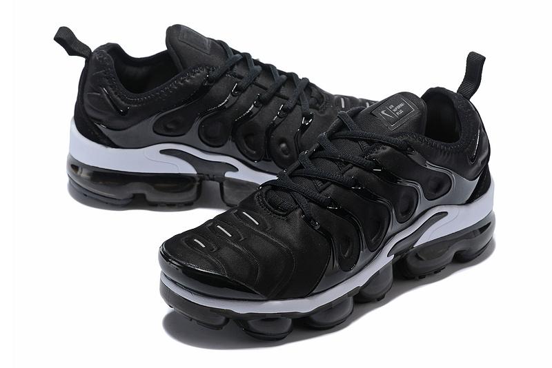 newest 1e4bd 7ad57 Nike Air Max Plus TN 2018 Black White Women's Running Shoes NIKE-ST001959