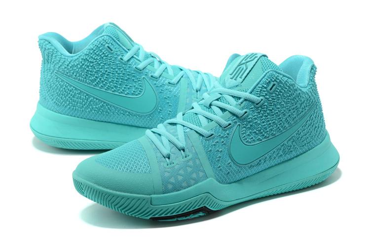 buy online 9974a 2df6f Nike Kyrie 3 Aqua Men's Basketball Shoes 852395-401