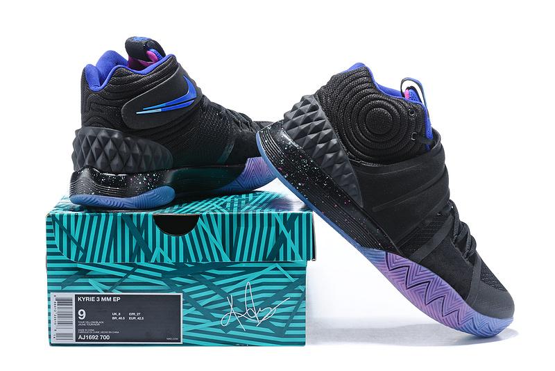 detailed look b621b 82416 Nike Kyrie S1 Hybrid Black Spectrum Purple Men's Basketball Shoes  NIKE-ST001517