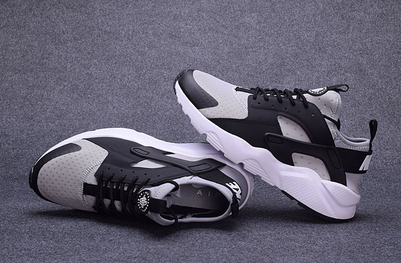 more photos 53fb2 7be24 Nike Air Huarache Run Ultra Wolf Grey Black Cool Grey White Men s Women s  Casual Shoes