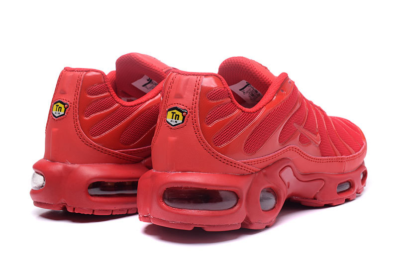 check out 85ebe 42d66 Nike Air Max Plus Tn TXT Pepper Red White 647315 616 Men s Running Shoes