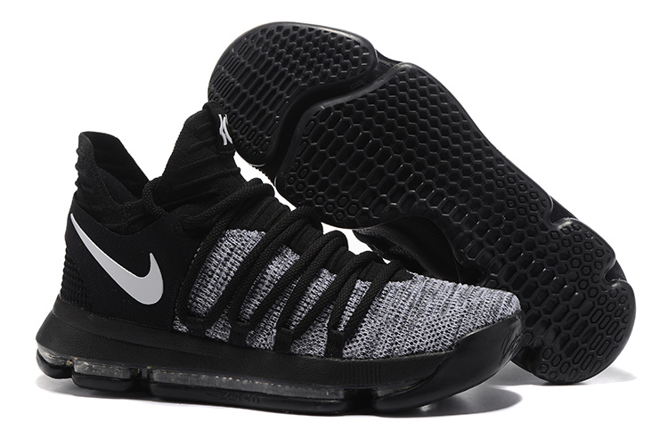 new product 365f5 8449d ... new arrivals nike kd 10 kevin durant oreo black white mens basketball  shoes 52483 5df5a