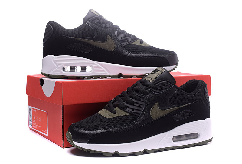 wholesale dealer f339d 55b29 Nike Air Max 90 Black Olive Green ...