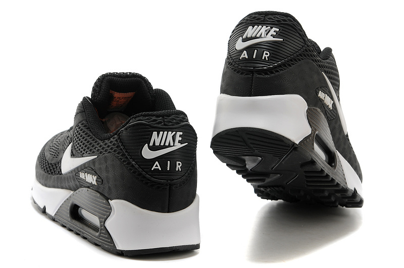 Nike Air Max 90 Essential black and white Chaussures