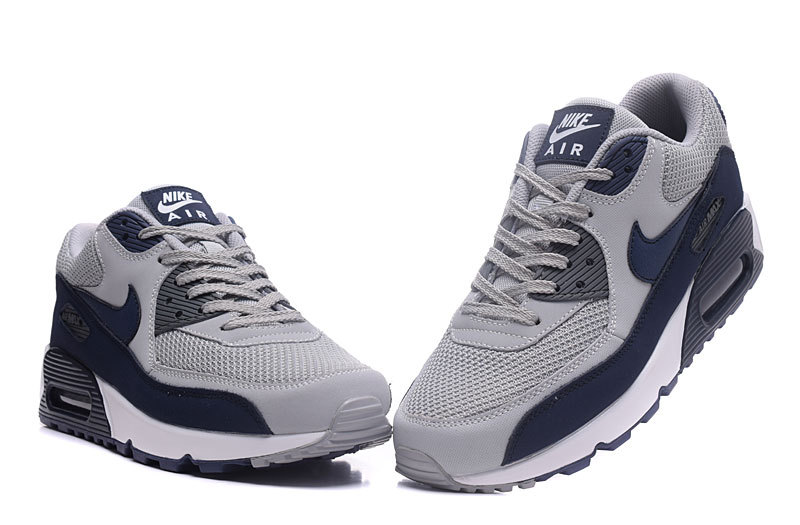 Nike Air Max 90 Essential BlackWhite Wolf Grey 616730 012 Mens Womens Sneakers 616730 012