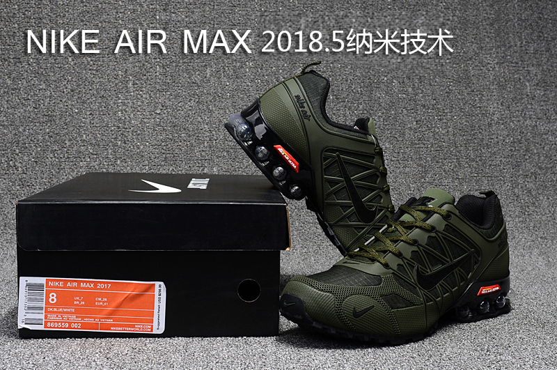 timeless design abe7b d7980 Nike Air Max 2018. 5 Shox KPU MoonRock Olive Green Men s ...