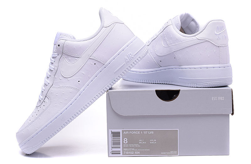 new product 590cf 68e0c Nike Air Force 1 07 LV8 Low White Men s ...