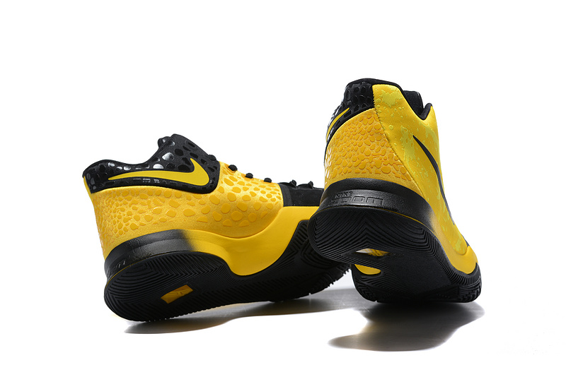 save off 09a93 e25c7 Nike Kyrie 3 Mamba Mentality Bruce Lee Tour Yellow Black Men's Basketball  Shoes NIKE-ST001485