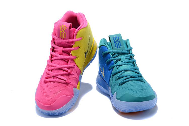 newest de0e7 6d283 Nike Kyrie 4 Confetti Multi Color Limited Men's Basketball Shoes 943806-900