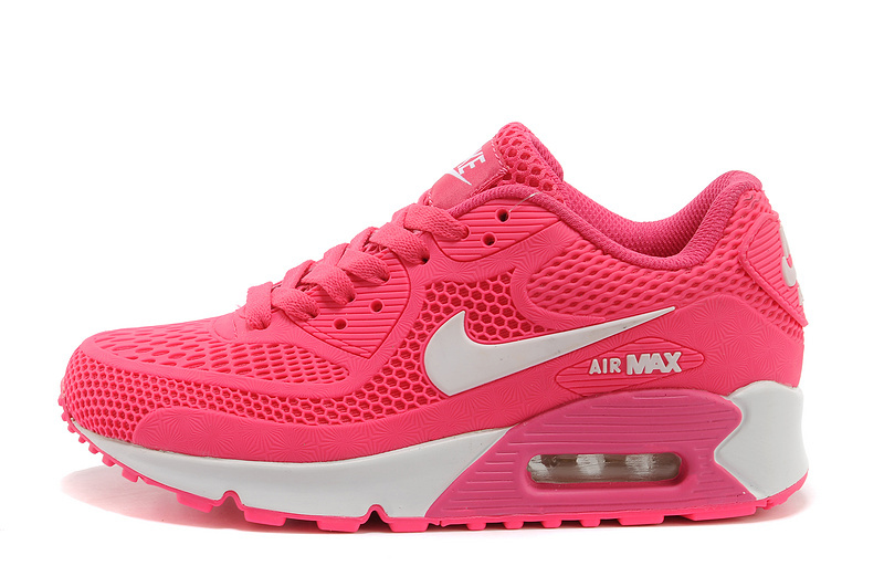 newest 7f17e 44255 ... 50% off nike air max 90 kpu hyper pink white womens running shoes  sneakers 40808