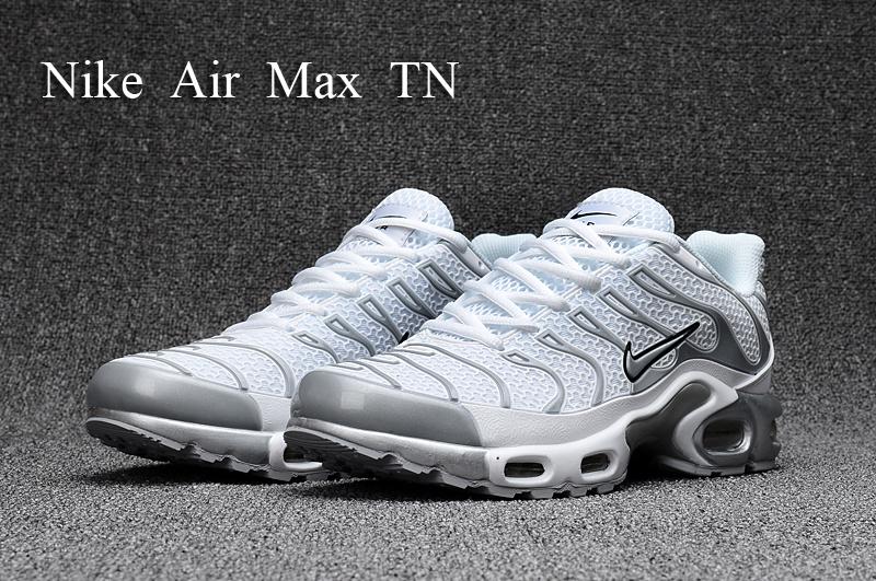 9a52df99f5 ... new zealand nike air max plus tn kpu tuned white silver grey black  604133 010 mens