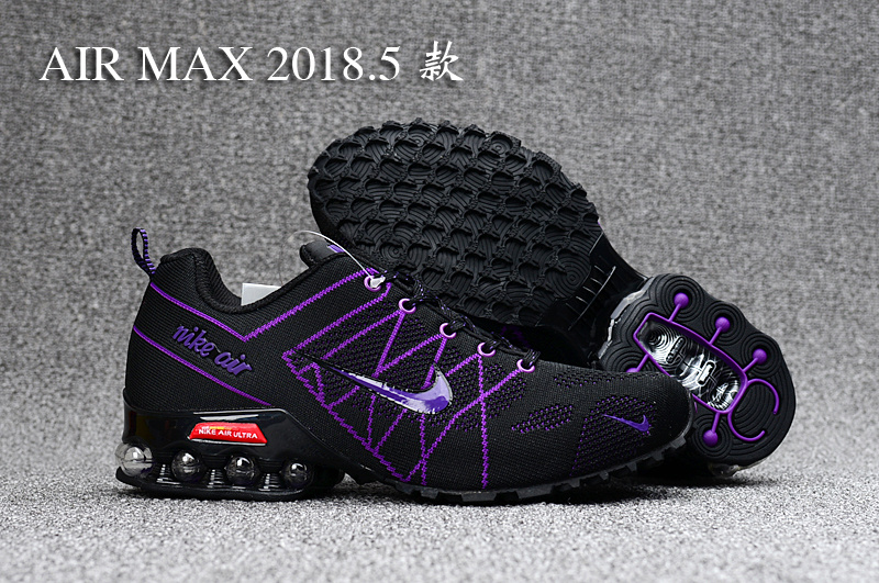 Nike Air Ultra Max 2018. 5 Shox Purple Black Women s Running Shoes ... 5316edae0