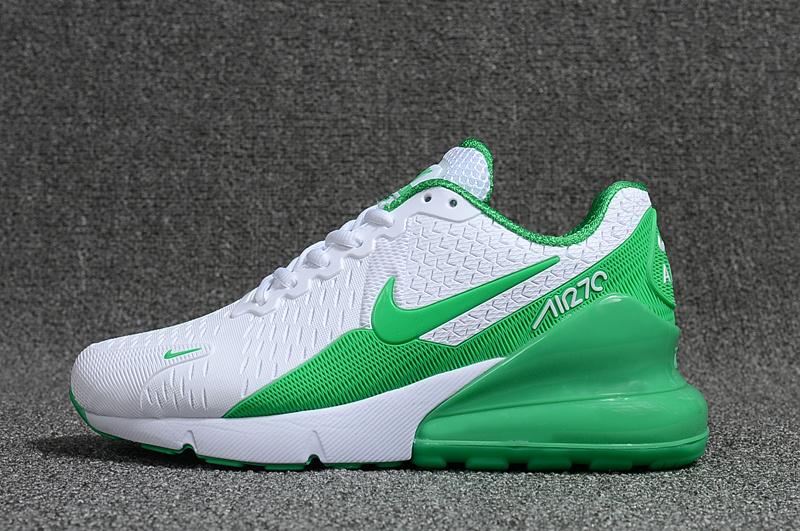 852e8c956b09 Nike Air Max Flair 270 KPU White Green Women s Running Shoes NIKE ...